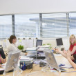 Stock Photo: Women working in an office