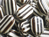 Hard Candy Humbugs In A Large Group — Stock Photo