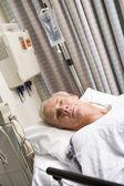Patienten im krankenhaus — Stockfoto
