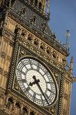 Intricate Clock Face Of Big Ben, London, England — Stock Photo