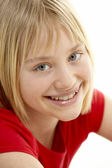 Portrait Of Smiling Young Girl — Stock Photo