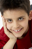 Portrait Of Smiling Young boy — Stockfoto