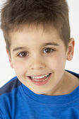 Portrait Of Smiling Young boy — Stock fotografie