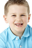 Portrait Of Smiling Young Boy — Stock Photo