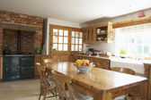 Interior Of Farmouse Kitchen — Foto Stock