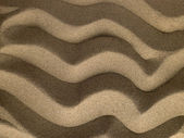 Rippled Texture In Sand — Stock Photo
