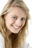 Portrait Of Smiling Teenage Girl — Stock Photo