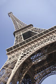 Eiffel Tower With Blue Sky — Stock Photo