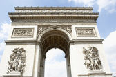 Arc de Triomphe, Paris. — Stock Photo