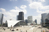 La Defense In Paris — Stock Photo