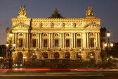 Exterior Of Paris Opera House At Night — Stock Photo