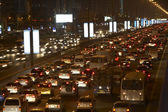 Dubai,Congestion At Night — Stock Photo