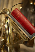 Bible On Lectern In Bristol Cathedral — Stock Photo