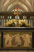 Altar en la catedral de bristol — Foto de Stock