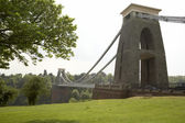 Clifton Suspension Bridge,Bristol,UK — Stock Photo