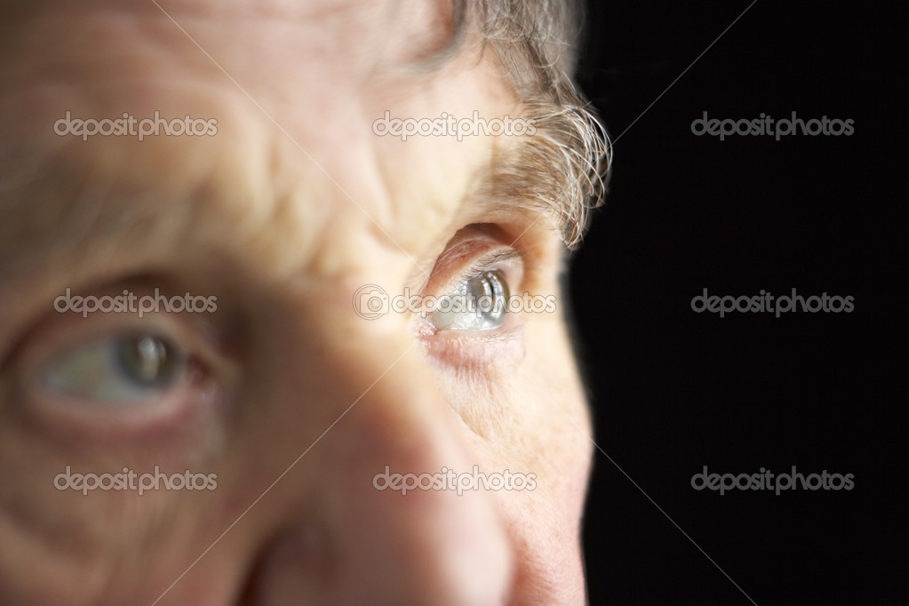 Close-up of senior man — Stock Photo #4790567