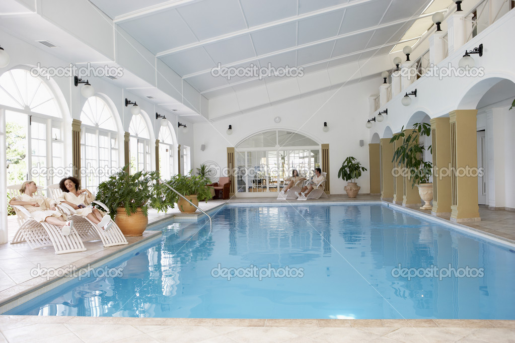 Swimming Pool At Spa  Stock Photo #4796632