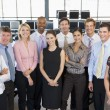 Group Photo Of Stock Traders Team — Stock Photo #4814262