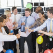 Stock Traders Celebrating In The Office — Stock Photo #4814268
