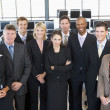 Group Shot Of Stock Traders — Stock Photo #4814273