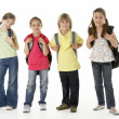Group of children in Studio — Stockfoto #4814361