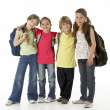 Group of children in Studio — Stock Photo #4814362