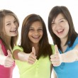 Group of Teenage Girlfriends — Stock Photo #4814595