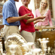 Couple shopping in antique shop — Stock Photo #4815582