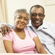Senior Couple Relaxing At Home Together — Stock Photo #4815899