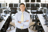 Portrait Of A Stock Trader — Stock Photo