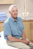 男性整骨の肖像画 — ストック写真