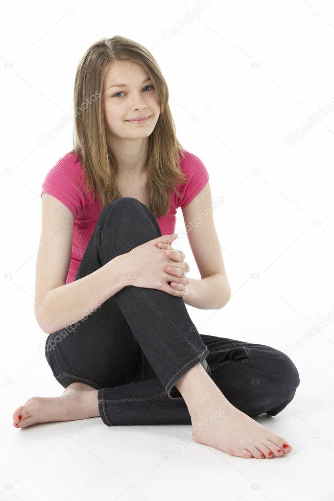 Фото девочки подростки с ногами 4 фотография