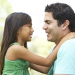 Father And Daughter In Park — Stock Photo
