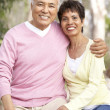 Portrait Of Senior Couple In Park — Stock Photo #4822910