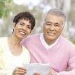 Portrait Of Senior Couple Looking At Map — Stock Photo #4822918
