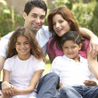 Family Enjoying Day In Park — Stock Photo #4822982