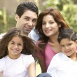 Family Enjoying Day In Park — Stock Photo #4822983