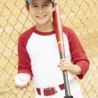 Young Boy Playing Baseball — Stock Photo #4823089