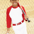 Young Boy Playing Baseball — Stock Photo #4823097