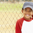 Young Boy Playing Baseball — Stock Photo