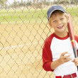 Young Boy Playing Baseball — Stock Photo #4823103