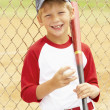 Young Boy Playing Baseball — Stock Photo #4823104