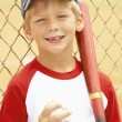 Young Boy Playing Baseball — Stock Photo #4823106