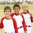 Young Boys In Baseball Team — Stock Photo #4823113