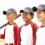 Young Boys In Baseball Team — Stock Photo