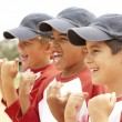 Young Boys In Baseball Team — Stock Photo