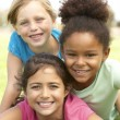 Young Girls In Playing In Park — Stock Photo #4823221