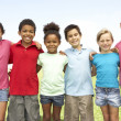 Group Of Children Playing In Park — Stock Photo #4823227