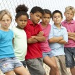 Group Of Children Playing In Park — Stock Photo #4823235