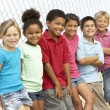 Group Of Children Playing In Park — Stock Photo #4823236